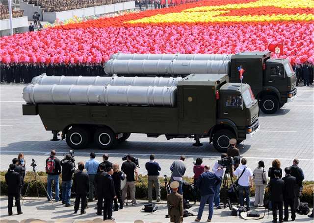 The KN-06 (also know under the name of Pongae-5 SAM) is a mobile surface-to-air defense missile system designed and manufactured by the North Korean defense industry which seems to be similar to the Russian S-300 air defense missile system.