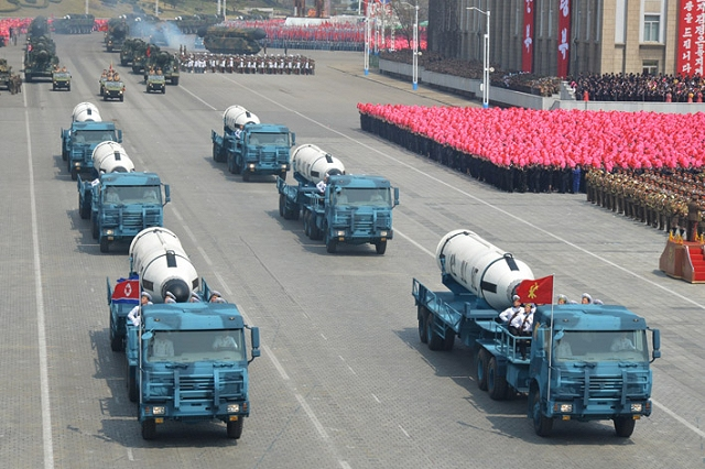 The KN-11 also called Pukguksong-1 was showed for the first during the North Korean military parade. It is a large solid-fuel missile which can be launched from submarine. This missile was tested for the first time in April 2016 followed by another test in August the same year that saw the missile fly 500 km into Japan's air defense identification zone.