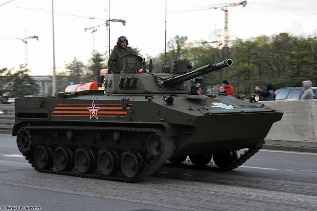 "The Russian Airborne Force will soon take delivery of a batch of upgraded ""improved-version"" BMD-4M airborne infantry fighting vehicles (AIFV) and BTR-MDM armored personnel carriers (APC), according to the Russian Defense Ministry's press office."