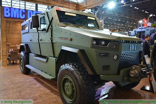 According to the daimabilgi website, Qatar has ordered 1,500 4x4 armoured vehicles Amazon designed and developed by the Turkish Company BMC. The vehicle will be fitted with a remotely operated weapon station manufactured by the Turkish Company Aselsan.