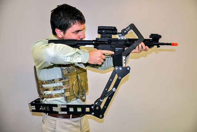 US Army has developed Third Arm device that could lessen Soldier burden and increase lethality 640 001