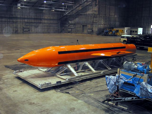 United States use GBU 43 the most poweful non nuclear bomb against target in Afghanistan 640 001