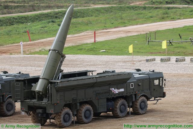 Upgraded version of Russian Iskander M short range ballistic missile will be unveiled after 2020 640 001