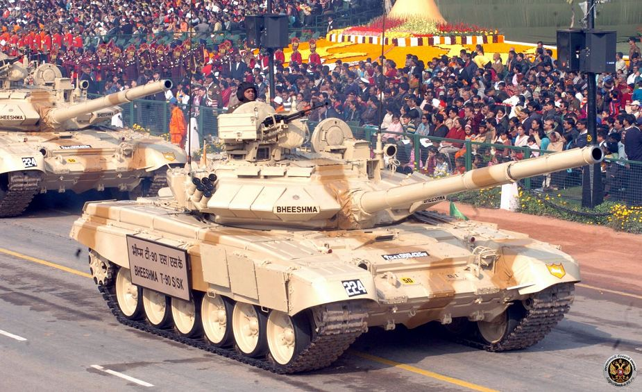Army of India will upgrade T 90S main battle tank with new anti tank guided missile 925 001