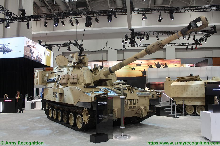 BAE Systems contract to produce M109A7 howitzers M992A3 ammunition carrier vehicle for US Army 925 001