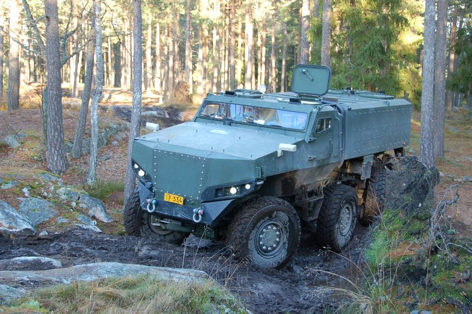 Finnish Army orders PMPV MiSu 6x6 MRAP armoured vehicle for field trial tests 925 001
