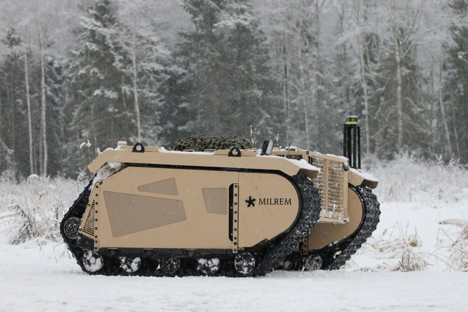 Milrem Robotics demonstrates the autonomous capabilities of its THeMIS UGV 925 002