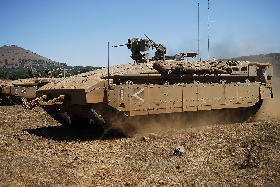 More NAMER APC and IFV tracked armoured vehicle for the Israeli Army 925 001