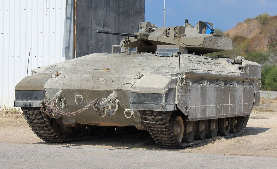 More NAMER APC and IFV tracked armoured vehicle for the Israeli Army 925 002