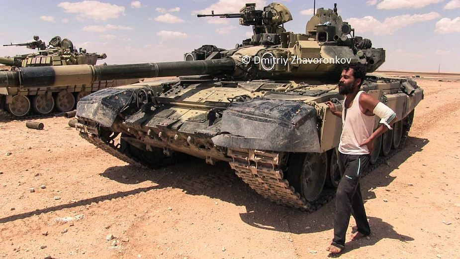 More Russian made T 90A main battle tanks for Syrian army 925 001
