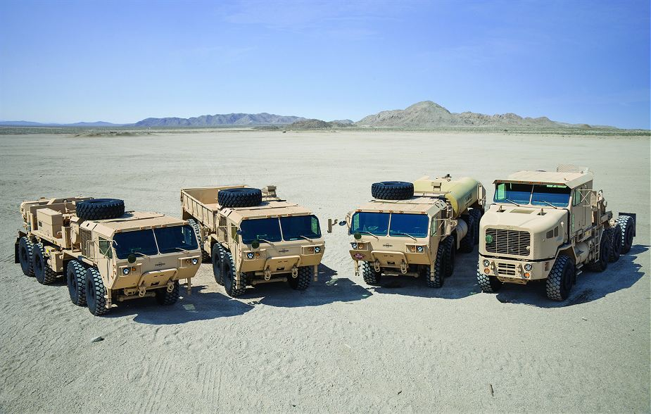 Oshkosh Defense recapitalization contract of Heavy Tactical Vehicles for US Army 925 001
