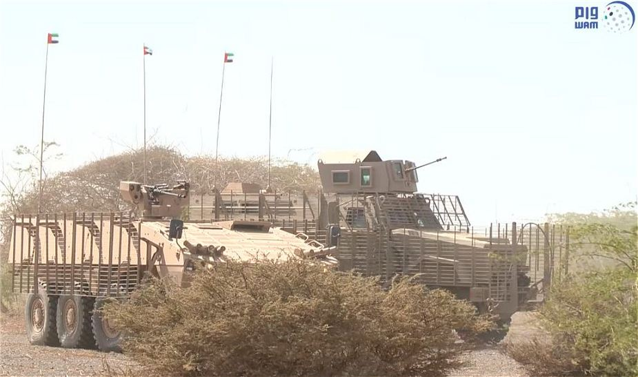 Patria AMV 8x8 armored combat proven in Yemen with UAE army 925 001