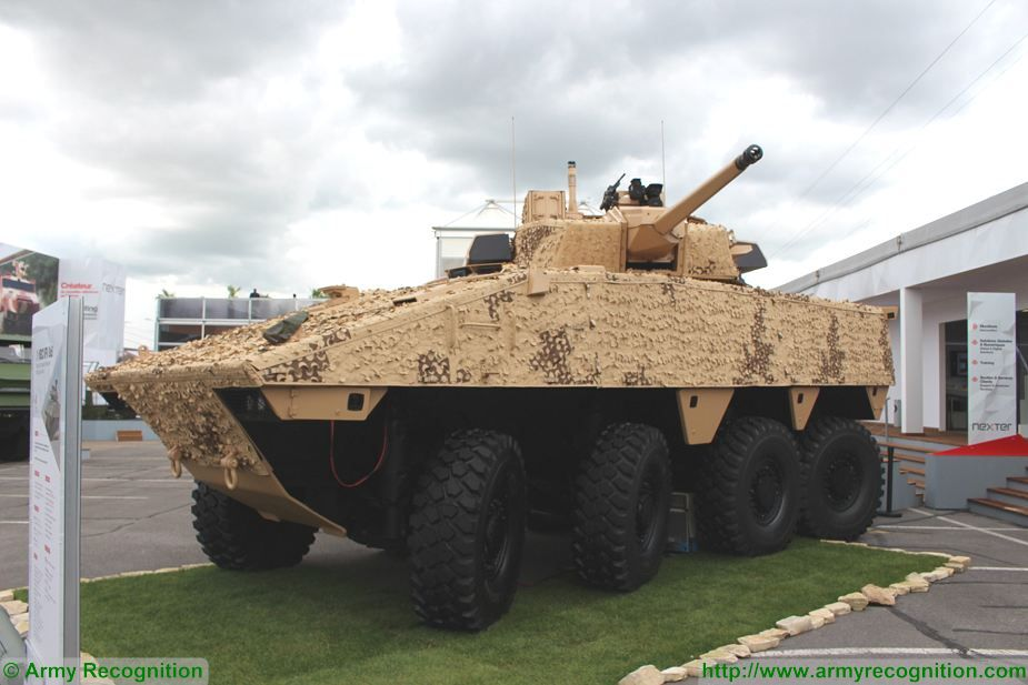 Qatar will purchase 490 French Nexter VBCI 8x8 IFV wheeled armoured infantry fighting vehicles 925 001