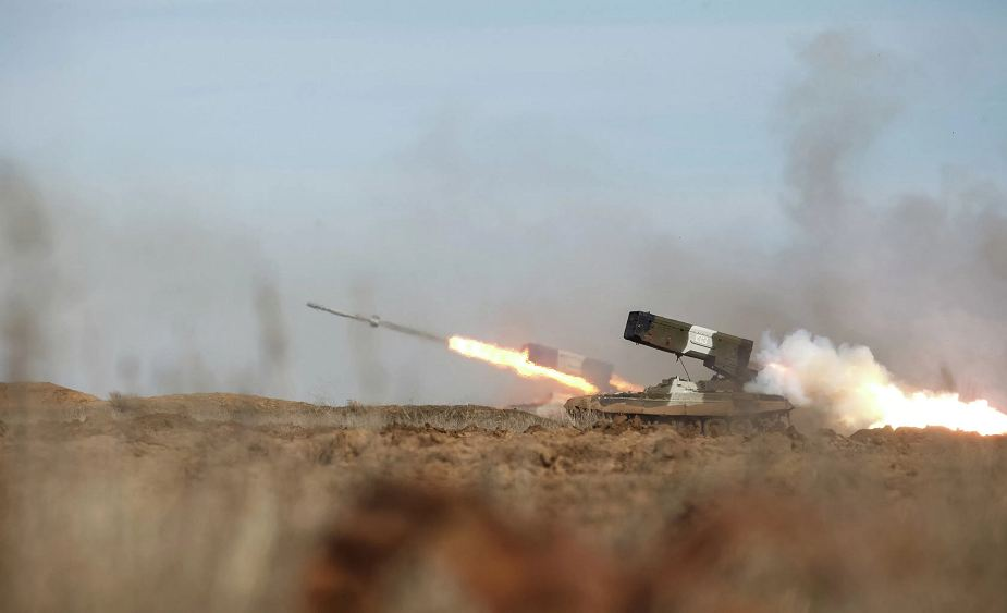 Russia to use TOS 1A flamethrower rocket launcher in Syria 925 001