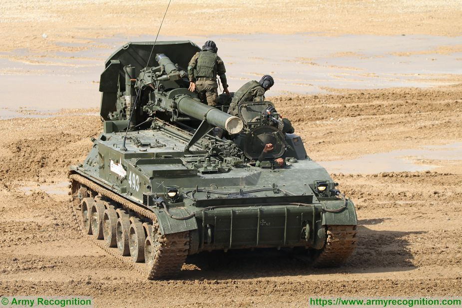 Russian army to increase fire power and range of artillery units 2S4 Tyulpan Russia 925 001