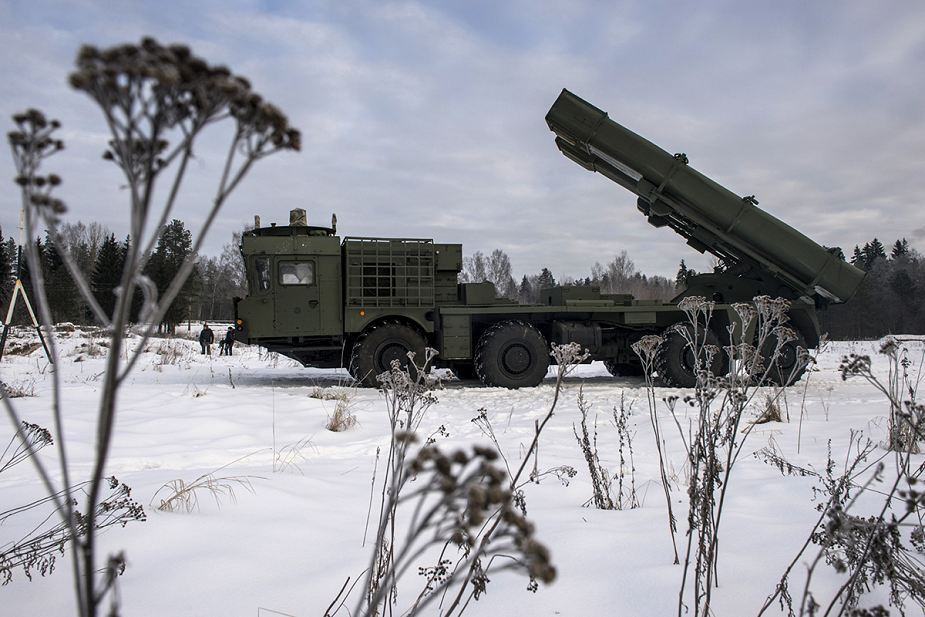 Russian army to increase fire power and range of artillery units Uragan M1 multi caliber MLRS Russia 925 001
