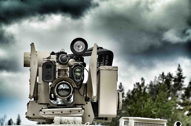 Konsberg from Norway will deliver Protector RWS Remote Weapon Station to Switzerland 640 001