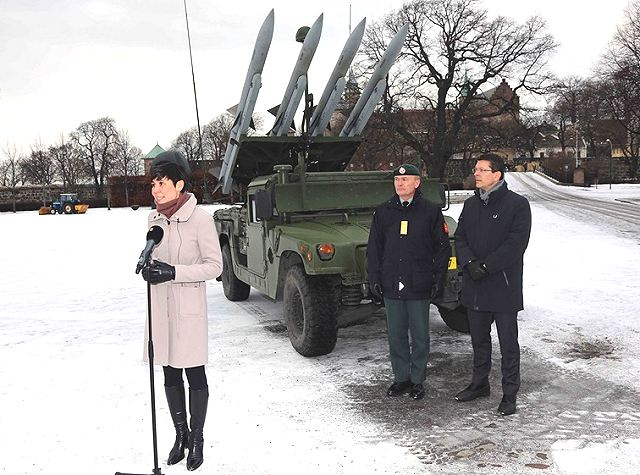 New project to provide Army of Norway with Mobile Ground Based Air Defence System 640 001