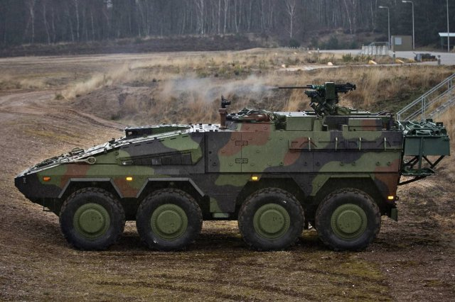 During a BOXER Programme Review Meeting on 1st February 2017 in Bonn, a major milestone in the BOXER Programme was celebrated: The delivery of the 400th BOXER vehicle to the Royal Netherlands Army on 20th Dec. 2016, the Organisation Conjointe de Coopération en matière d'ARmement (OCCAR) announced on Feb. 10, 2017.
