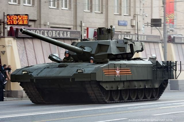 Russia's Rosatom nuclear power corporation is developing ammunition for the advanced T-14 tank based on the Armata heavy tracked standardized combat platform, CEO of Russia's Uralvagonzavod armor producer Oleg Siyenko told TASS.
