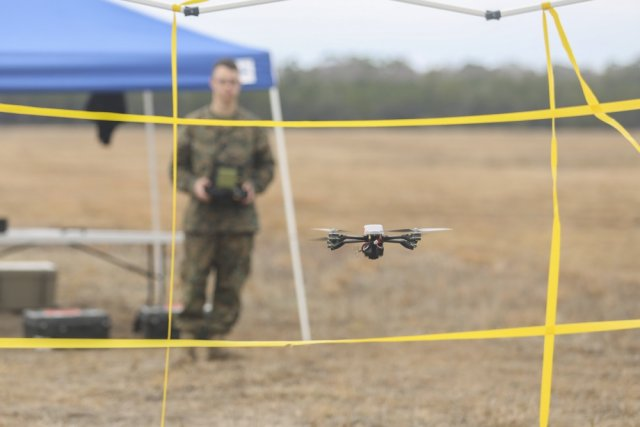 Task Force Southwest Marines test new drone capabilities