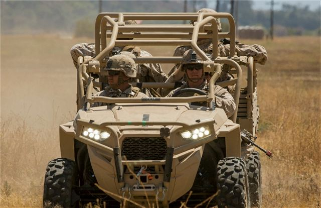 US Marine Corps infantry regiments will receive 144 UTV Utility Task Vehicles 640 001