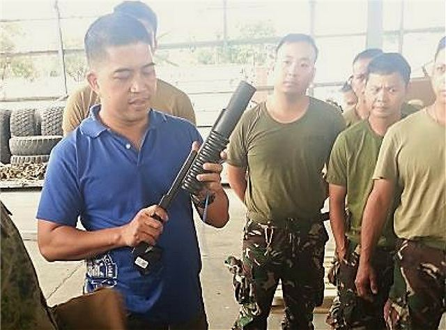 United States delivered grenade launchers M203 and RQ 11B Raven UAVs to Philippines Army 640 001