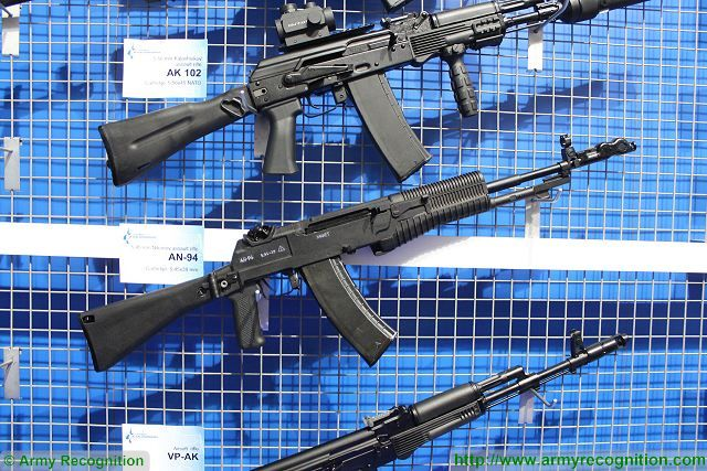 Analysis Russian defense industry offers modern firearms on global military and security market AN-94 assault rifle 640 001