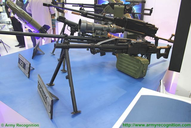 Analysis Russian machine gun available on the modern global military market Pecheneg 640 001