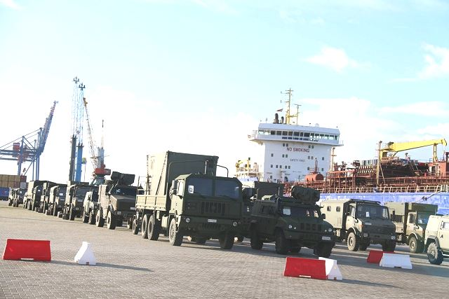 Logistic troops from Belgian army arrive in Lithuania to join the new NATO forces in the country 640 001