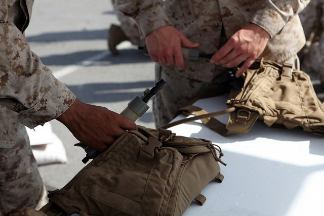 The U.S. Marine Corps is investing in a next-generation water purification system that will allow individual Marines to get safe, drinkable water straight from the source. The Individual Water Purification System Block II (IWPS II) is an upgrade to the current version issued to all Marines.