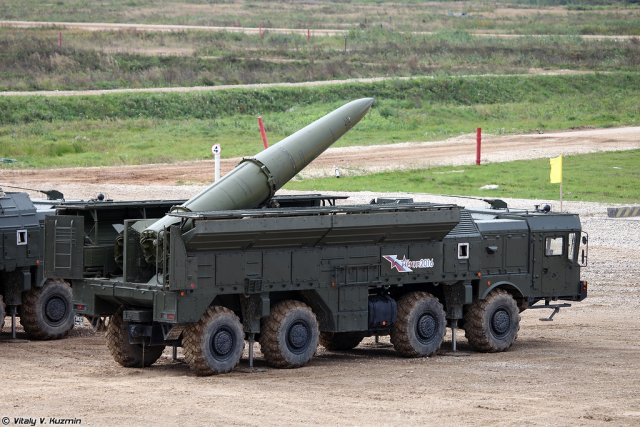 Russia s Defense Ministry considering Iskander missile system upgrade 640 001