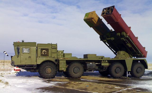 Russian Tornado-S 300mm Multiple Launch Rocket System MLRS successfully passed state trials 640 001