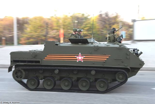 Russian soldiers of the 106th Airborne Division based in the Tula Region in central Russia have started combat training at the Dubrovichi training range in the Ryazan Region with the use of advanced BMD-4M airborne fighting vehicles, the Defense Ministry's press office said.