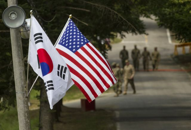 South Korea will continue to develop and strenghten collaboration with United States 640 001