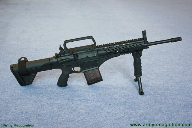 Turkish Armed Forces to receive the new MPT-76 Assault Rifle