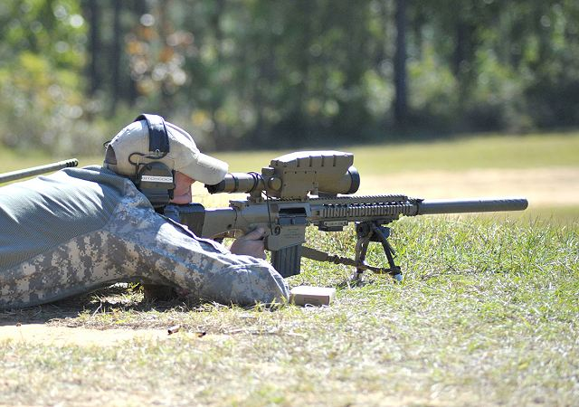 US Army has developed new sighting system for sniper rifle called BOSS 640 001