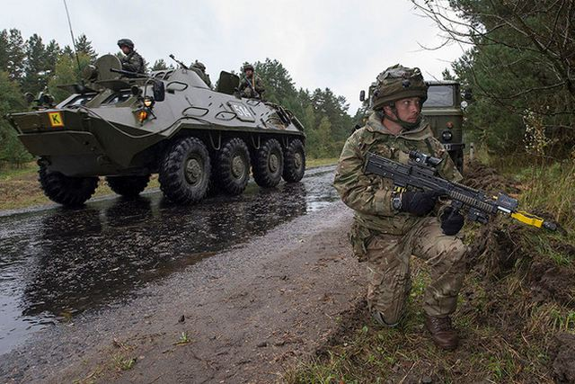 United Kingdom will begin to deliver training to Ukraine Armed forces 640 001