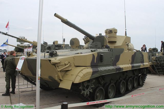 Volgograd Tractor Plant from Russia started the development of new BMD-5 airborne tracked IFV 640 002