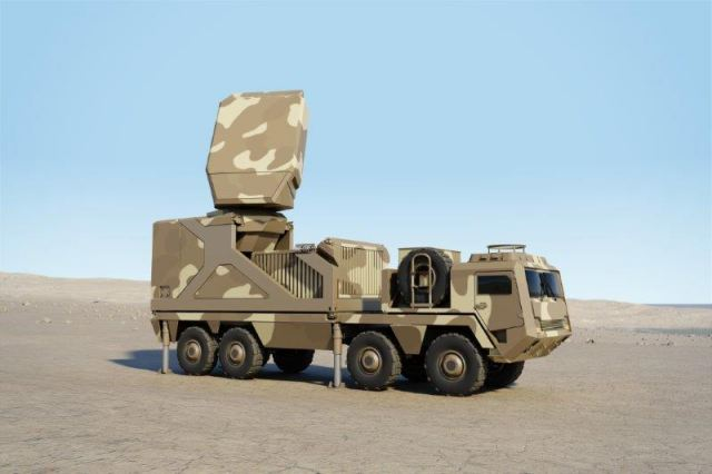 On the first day of the Paris Air Show which takes place in Paris (France) from the 19 to 25 June 2017, French Company Thales is unveiling its Ground Fire family: a range of latest-generation multifunction ground radar. The radar system, which is fully digital, will carry out air defence and surveillance missions simultaneously.