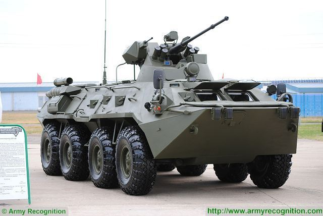 Twelve modernized BTR-82AM armored personnel carriers (APC) have been fielded to the Western Military District's (WMD) military units under State Defense Order over the past week, the WMD press service reported.