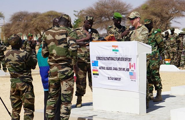 Annual multinational Special Forces Operations exercice Flintlock 2017 in Niger 640 001