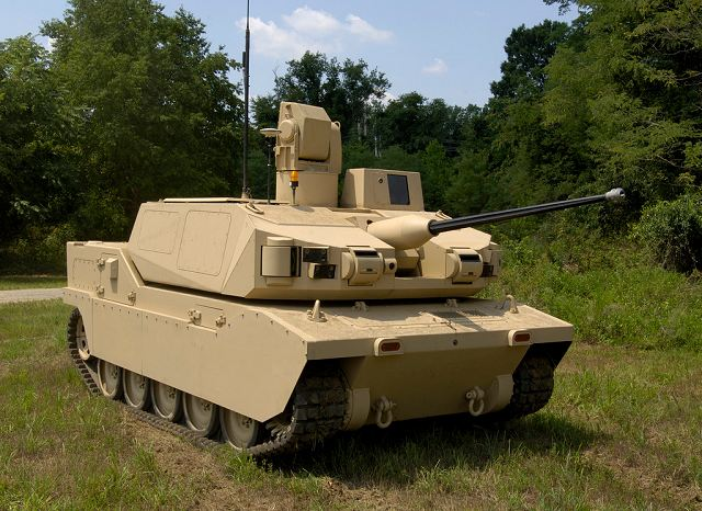 BAE Systems Black Knight Unmanned Ground Combat Vehicle