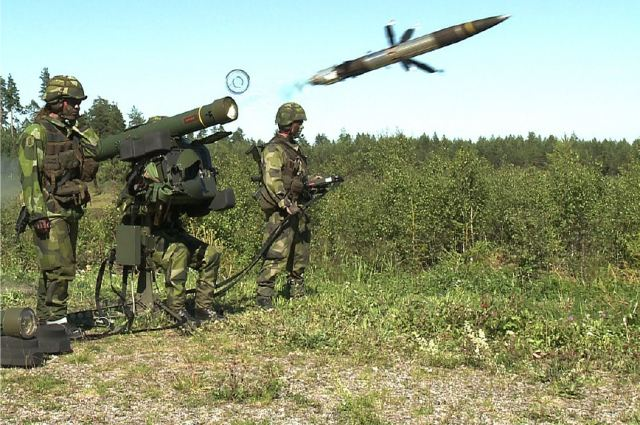 Brazil has signed a contract with the Swedish Company SAAB for the delivery of RBS 70 MANPADS 640 001