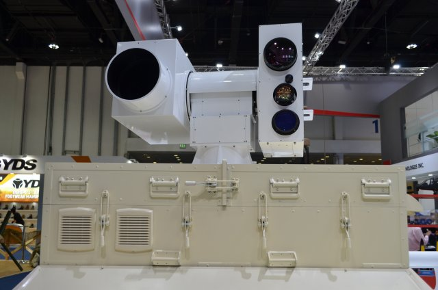 Silent Hunter fibre-optic laser air defense system is a Low Altitude Laser Defending System (LASS) developed by China independently and this was the first time that its car-borne mobile version was unveiled.