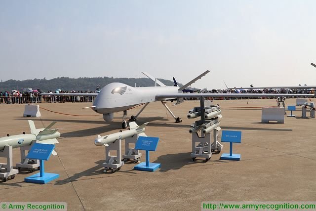 Important export contract for the Chinese defense industry with the delivery of 300 medium-altitude, long-endurance (MALE), unmanned aerial vehicle (UAV) Wing Loong II also called Perodactyl II) to Saudi Arabia. The Wing Loong II was unveiled during AirShow China in Zhuhai in November 2016.