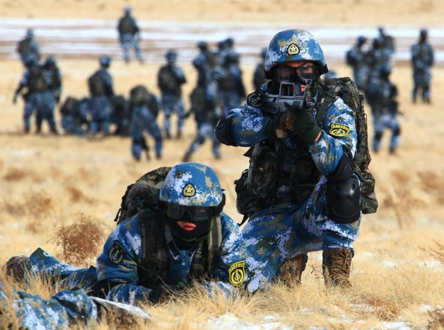 Chinese Marines corps to be expanded to 100000 troops 640 001