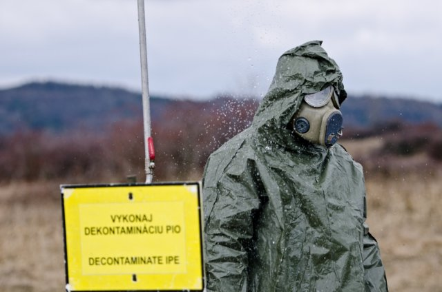 Czech Slovakia and US Military conducts combined exercise including reactions to CBRN threats 640 001