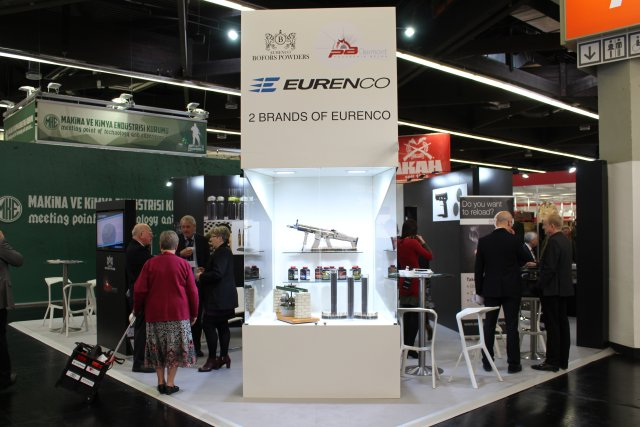 EURENCO exhibits its two propellant brands BOFORS POWDERS and PB CLERMONT at IWA 2017 001
