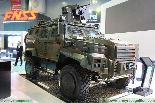 First export contract for Nurol Makina of Turkey with its Edjder Yalcin 4x4 armored in North Africa 640 001